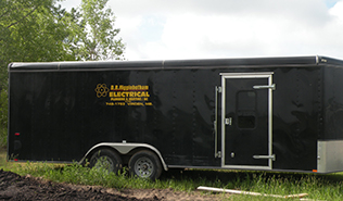 trailer with old logo